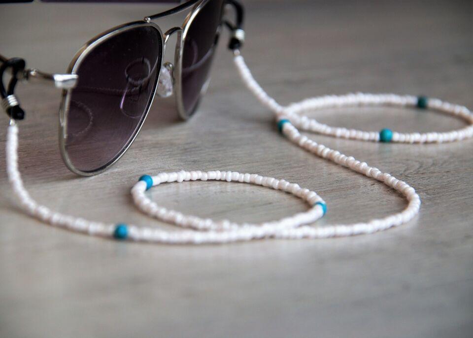 Верижка за очила (маска), Аксесоари за очила с тюркоаз